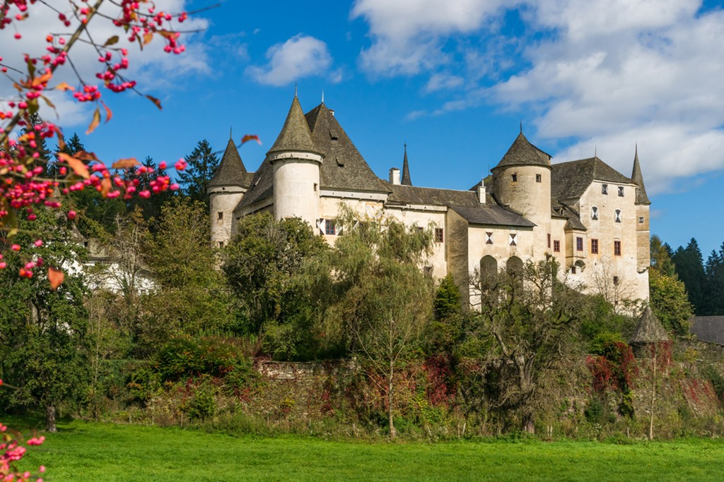 Burg Frauenstein in Kärnten