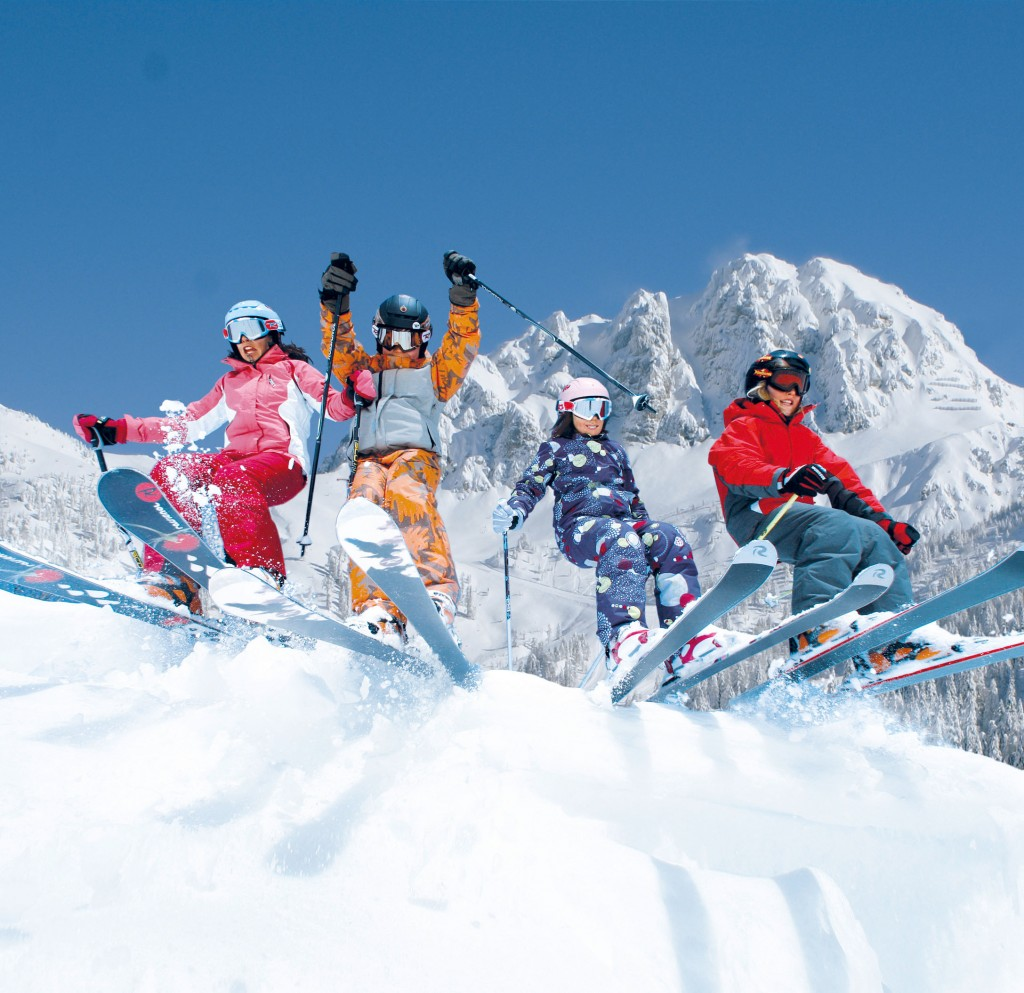 Skifahren in Kärnten Nassfeld
