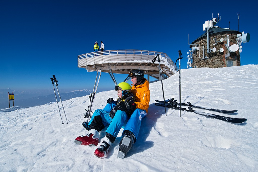 Skifahren in Kärnten Gerlitzen